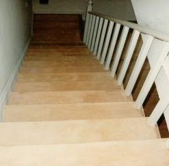 schody po cyklinowaniu